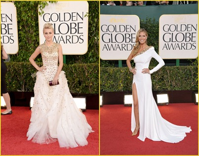 Golden Globes Blanco Oro