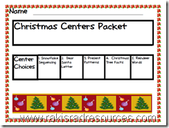 Primary Ceter Packet - free download from Raki's Rad Resources