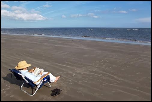 At the beach 025