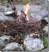 yule fire 1