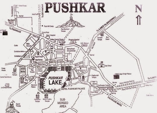 pushkar map