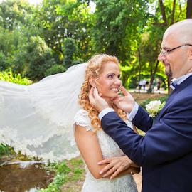 by Elena Cosma - Wedding Bride & Groom