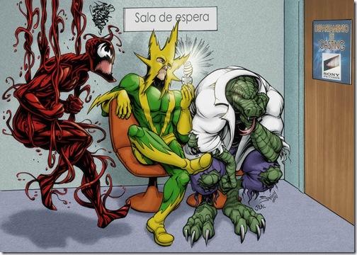 El Lagartom, Lizard,  Dr. Curt Connors (4)