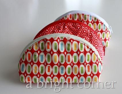 Dumpling zipper pouch
