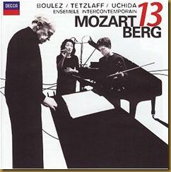 Berg Concierto de camara Boulez Decca
