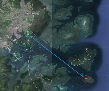 Beras Basah Map View