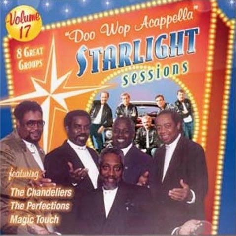 Doo Wop Acappella Starlight Sessions - Volume 17 - Front Cover