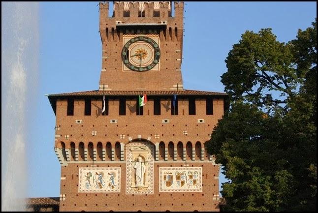Detail Torre del Filarete
