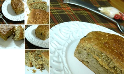View banana millet bread