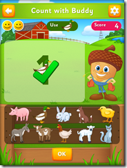 Eggy Numbers iPad App Review - Great number game for preschoolers
