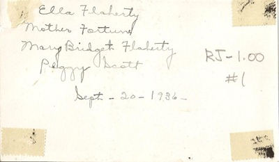Sept 26 1936 Flaherty Moorhead Ant back