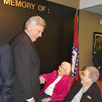 Veteran's Wall of Honor Dedication Ceremony at Harding Place