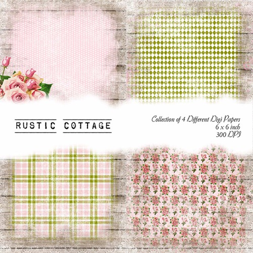 Pink Rustic Cottage Front Sheet