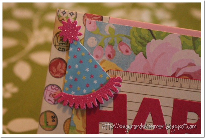 DIY Birthday Card - Close