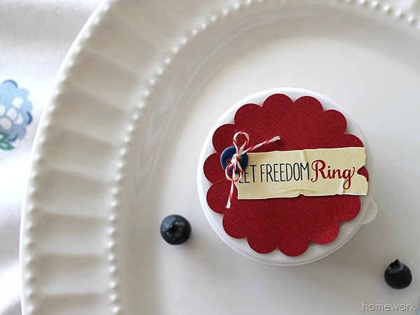 Easy Patriotic Berry Cups via homework01