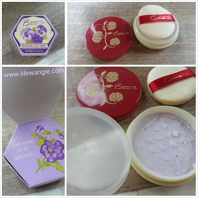Besame Cosmetics Violet Brightening Powder