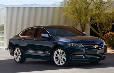 2014 Chevrolet Impala Right Front Angle
