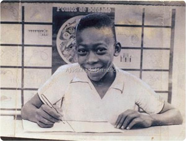 Foto do maior e melhor jogador de futebol do planeta de todos os tempos: Pelé