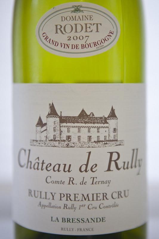 2007 Chateau de Rully Premier Cru Rodet Bourgogne