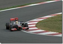 Hamilton conquista la pole del gran premio della Corea 2011