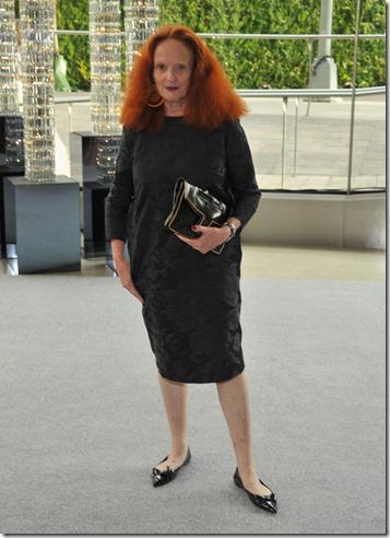Creative director American Vogue Grace Coddington