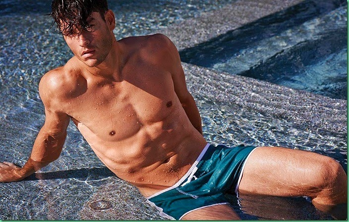 Tyson Ballou for Calzedonia Beachwear Summer 2014
