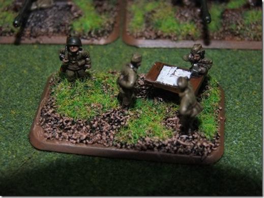 artillery staff