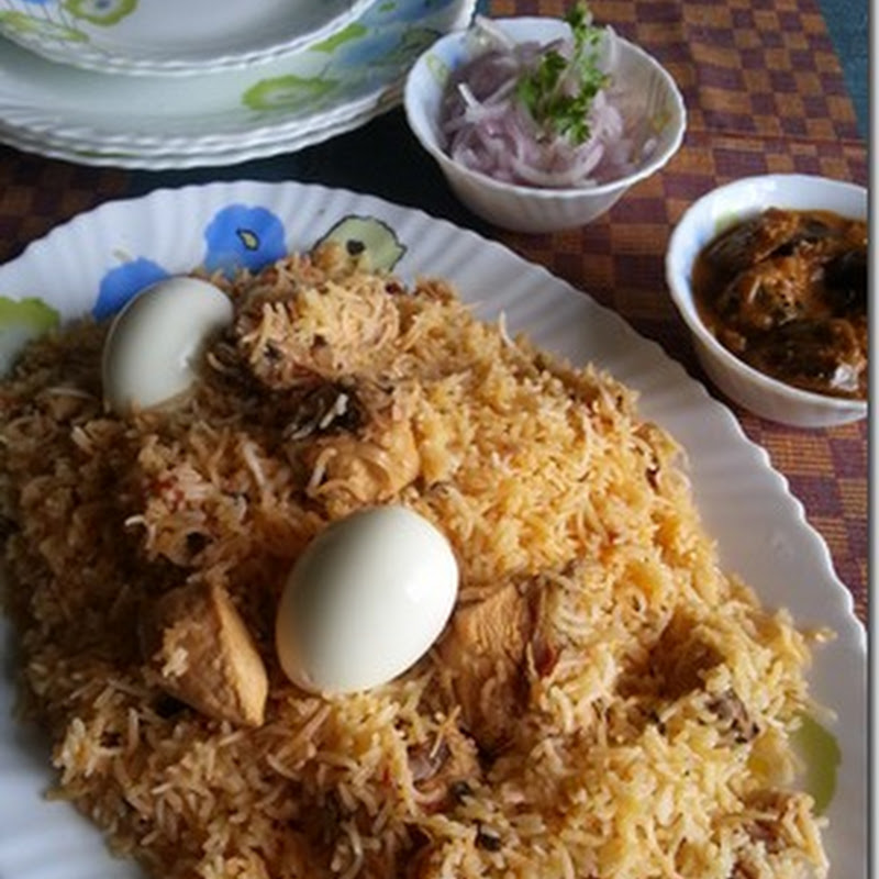 Madrasi Chicken Dum Biryani