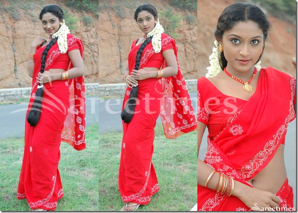 Akshaya_Red_Saree