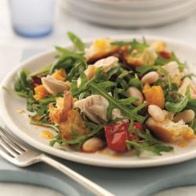 Dean Edward's Chicken Panzanella Salad
