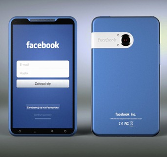 Fcebook-phone-concept
