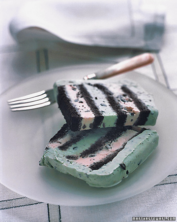 Mint-Chocolate Chip Cake
