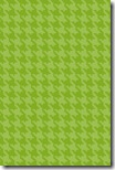 iPhone Wallpaper - Apple Green Houndstooth - Sprik Space