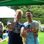 making new friends in Tokyo, Tokyo, Japan