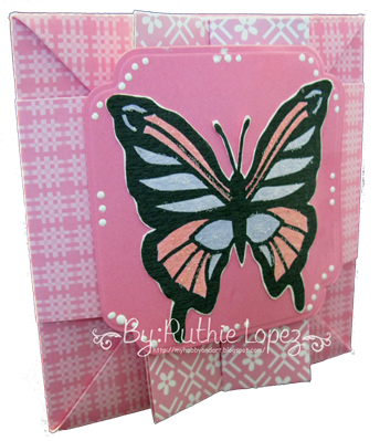 Butterfly - shadow box - box-card 5
