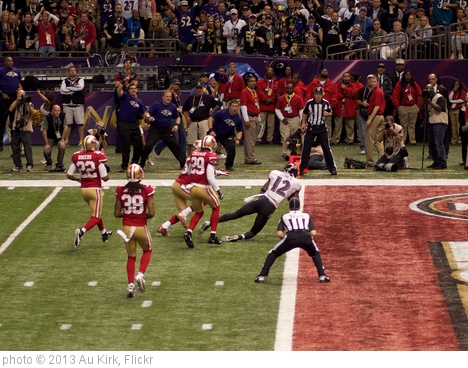 'Jacoby Jones Dives for Touchdown' photo (c) 2013, Au Kirk - license: http://creativecommons.org/licenses/by/2.0/