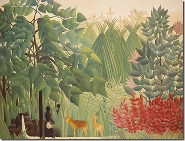 The-Waterfall,-Rousseau,-1910