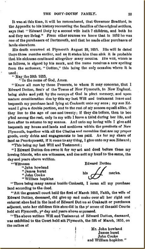 Doty-Doten Family In America - The Family of Edward Doty (18)
