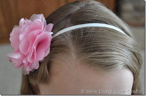 Finished-elastic-headband