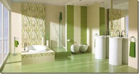 diseños de baños modernos9