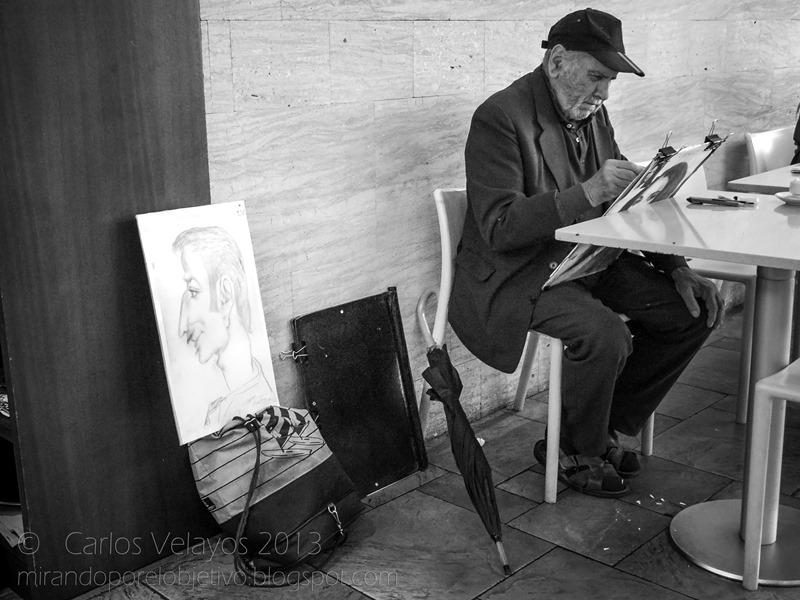 Dibujante Callejero