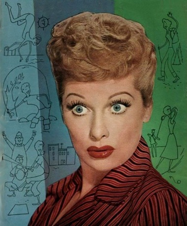 Lucille Ball Dell Comics cover 1954