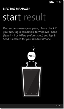 NFC tag manager