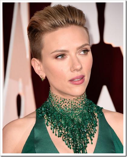 Looks beauty premios Oscar 2015 06 Scarlett Johansson