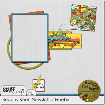 GPS_Beachy Keen_Newsletter freebie preview