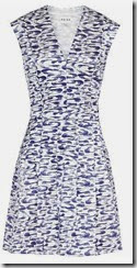 Reiss Swirl Print Summer Dress
