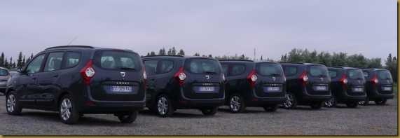 Dacia Lodgy testdagen 20