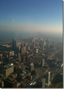 South Chicago from Willis Tower