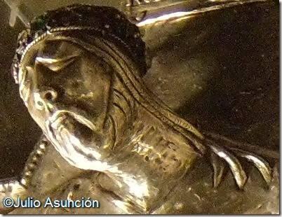 Crucificado de Monjardín - detalle