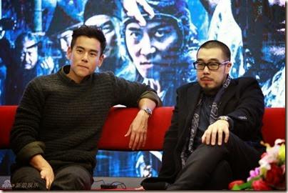 2014.11.18 Eddie Peng during Rise of the Legend - 彭于晏 黃飛鴻之英雄有夢 做客新浪 07